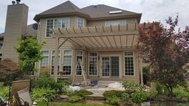 Newly Built Pergola in Naperville, IL (1)