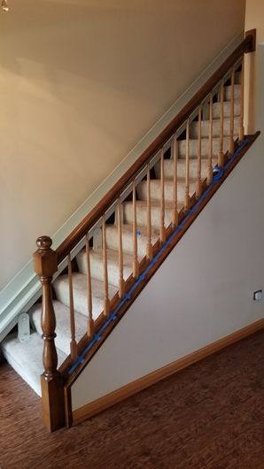 New Colonial Staircase in Naperville, IL (1)