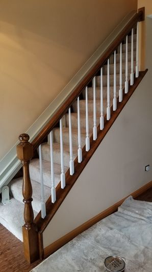 New Colonial Staircase in Naperville, IL (2)