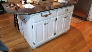 Kitchen Cabinet Painting in Naperville, IL (1)