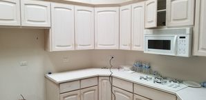 Before & After Kitchen Cabinet Painting in Naperville, IL (1)