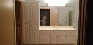 Bathroom Cabinet Painting in Naperville, IL (2)