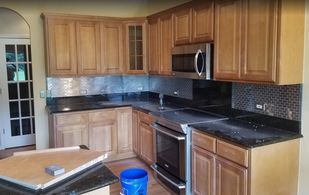 Before & After Cabinet Painting in Aurora, IL (1)